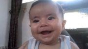 اولین خنده بچه در سه ماهگی (محمدحسن ضیائی)