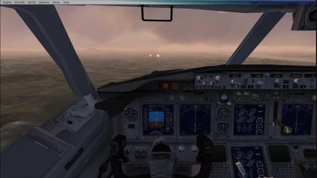 لندینگ 737 در فرودگاه سئول