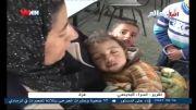 رژیم صهیونیستی 6هزار نفر از اهالی غزه را آواره کرد + فیلم