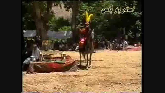 روبرویی حر و عباس - نرگسخانی و صابری - تعزیه کرمجگان قم