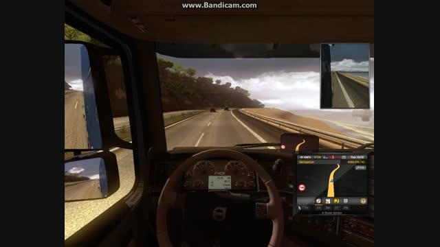 تست ولوو مانی در جاده(یوروتراک2)
