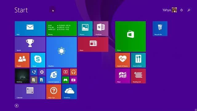 بررسی ابزارهای نوار وظیفه ویندوز 8_سفارشی سازی ابزار
