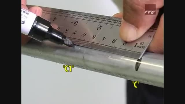 نحوه خم کردن لوله کاندوئیت با لوله خم کن دستی