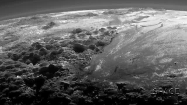 طلوع در پلوتو: تصاویر ناسا از کوه ها و جوی نازک