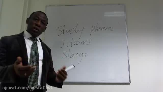یادگیری سریع اسلنگ ها و اصطلاحات زبان انگلیسی