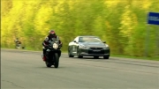 Suzuki GSX 1300R Hayabusa vs GSX R-1000 vs Nissan GT-R