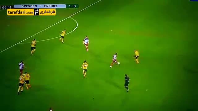 گل زیبای روز (113)-سوپر گل بازیکن ارفورت به درسدن