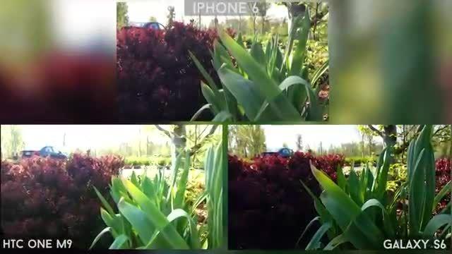 '2 Galaxy S6 vs iPhone 6 vs One M9 -Camera Comparison