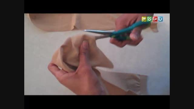 درست کردن عروسک لاللالوپسی یا عروسک چشم دکمه ای