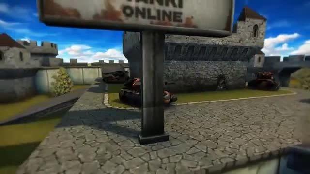 پارکور در بازی تانکی آنلاین