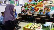 جشن روز معلم در کلاس (3)