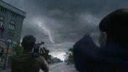 اولین کلیپ فیلم درون طوفان Into The Storm 2014