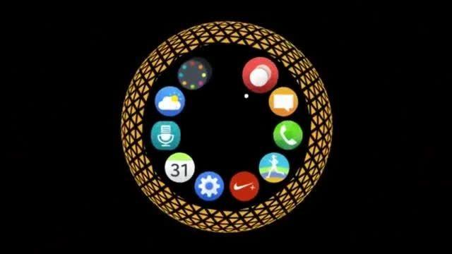 تبلیغی از ساعت هوشمند  Gear S2 سامسونگ