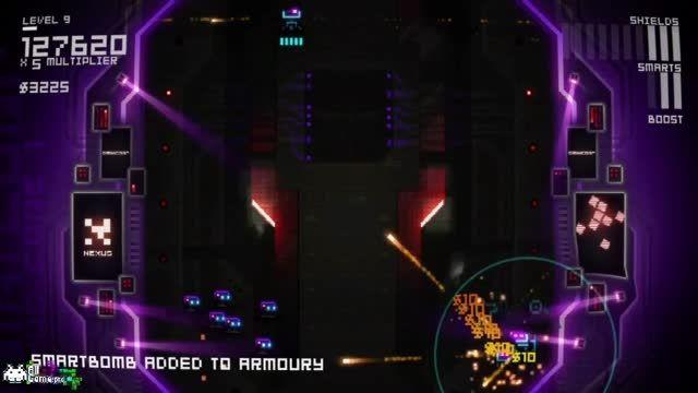 بخش سومین گیم پلی بازی آرکید Ultratron از سایت آل گیم
