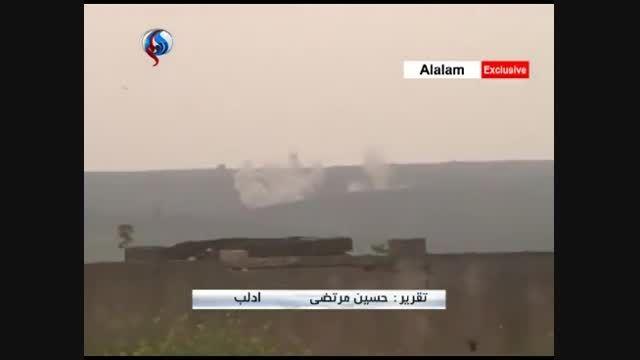 عملیات ارتش سوریه برای محاصره ادلب و هلاکت 50 تروریست د