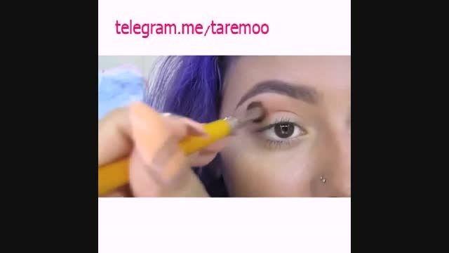 آموزش کشیدن خط چشم کشیده در تارمو