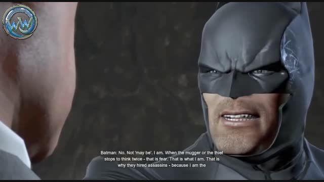 فیلم اول بازی Batman Arkham Origins با دوبله فارسی