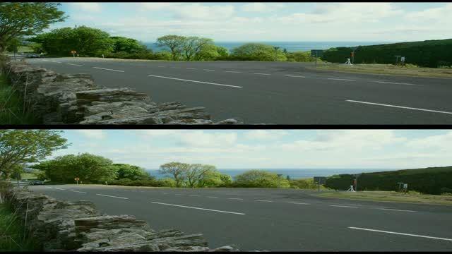 قسمت کوتاه مستند سه بعدی TT3D Closer to the Edge 2011