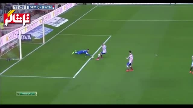 خلاصه بازی : سویا 0 - 0 اتلتیکو مادرید ( ویدیو )