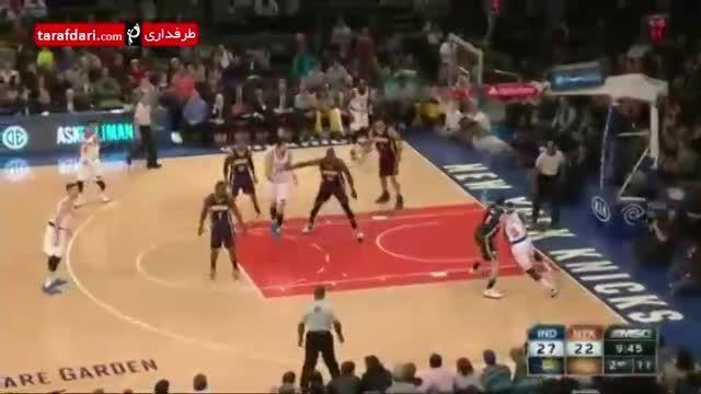 بسکتبال NBA-  نیویورک نیکس 86  - 92  ایندیانا پیسرز