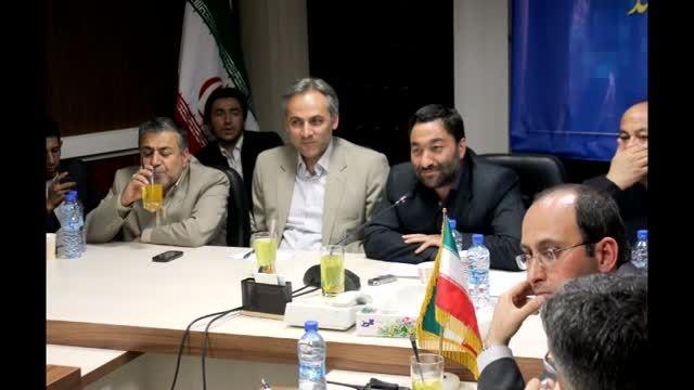 بازدید گروه مشاوران جوان شهرداری مشهد از بینالود