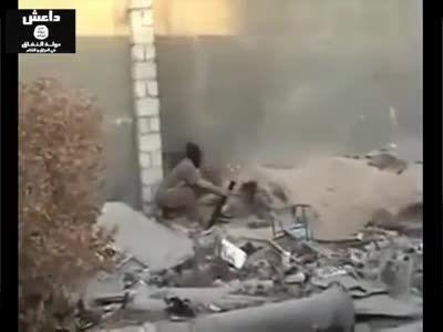 دورنمایی از کشته شدن جالب داعشی ها -عراق-سوریه