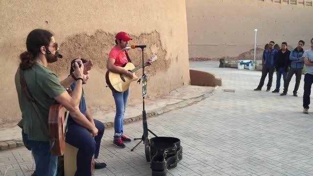 موسیقی خیابانی /زرد یواش / slow yellow : اجرای کرمان 13