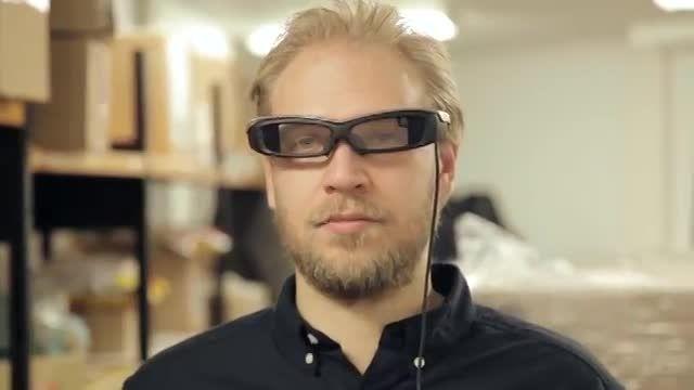 عینک هوشمند سونی Sony SmartEyeglass
