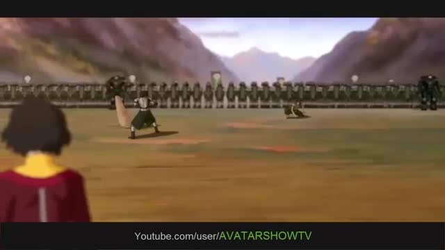 Korra VS Kuvira: Full Fight [HD]