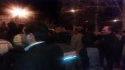 كلیپ ندای الله اكبر همراه با شادمانی مردم شهر خضری دشت بیاض