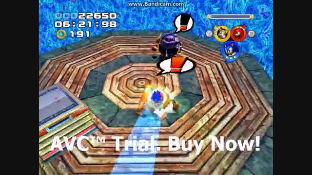 Sonic Heroes - Mystic Mansion Stage 12 - Team Sonic