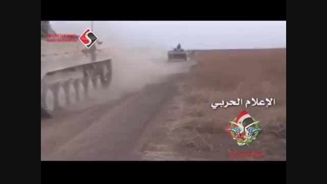 پیروزی های مهم ارتش سوریه در حومه جنوب غربی حلب