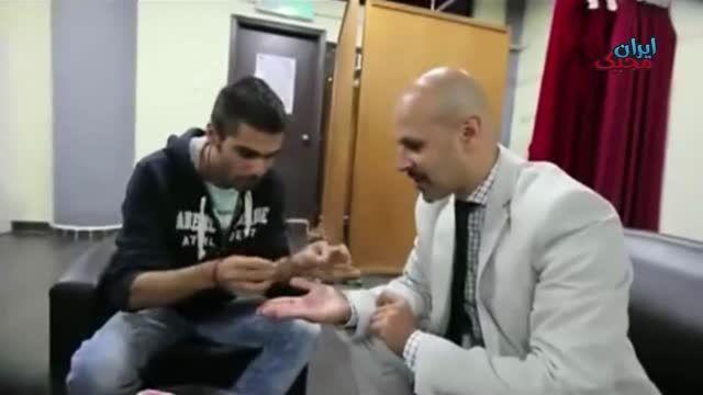 شعبده خم کردن سکه با انرژی انگشت - ایران مجیک