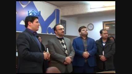 بازدید رییس شورای اسلامی رشت از خبرگزاری ایمنا