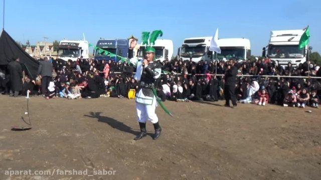 شبیه خوانی بیله سوار جمال رفیعی در نقش حضرت علی اکبر 94