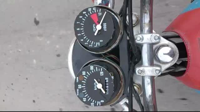 موتور تلاش 125 تقویتی خودم سری 4