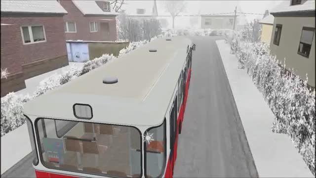 دریفت جالب اتوبوس