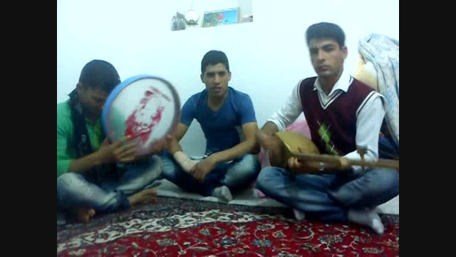 محمد امین عابد و حسن خوشحال دوتار زیبا (آهنگ نمیچنم گلی