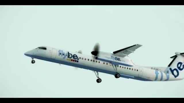 لذت پرواز با هواپیمای بسیار حرفه ای Dash 8 Q400