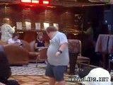 رقص خنده دار مرد چاق