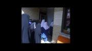 بازدید از خانه سالمندان توسط دانش آموزان