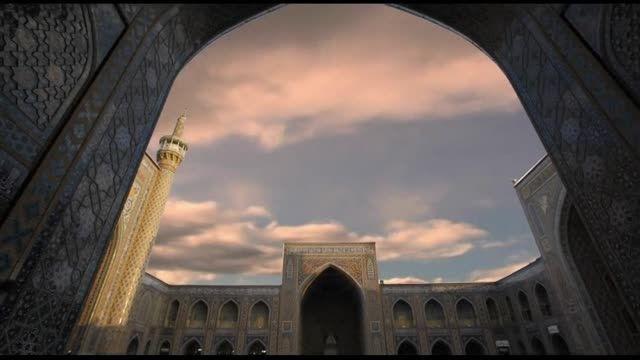 مسجد زیبای گوهر شاد