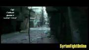 تک تیرانداز ارتش سوریه و زدن سر تروریست سوری