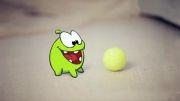 انیمیشن سریالی om nom | این قسمت:(ترس از گربه)
