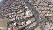 تصاویر هوایی از میدان هفتم تیر تهران