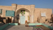 آرامگاه حضرت آیت الله سید علی قاضی(ره)در قبرستان وادی السلام