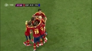 فینال یورو 2012 اسپانیا-ایتالیا (گل چهارم-خوان ماتا)