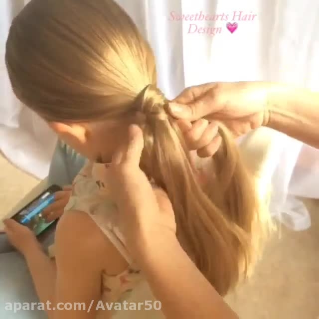 مدل درست کردن موی دخترانه