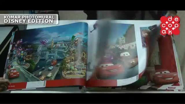آلبوم کاغذ دیواری کومار Photomural Disney