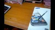 سامسونگ 2 Galaxy note اندروید 4 cpu چهارهسته ای و mobile21.ir3G